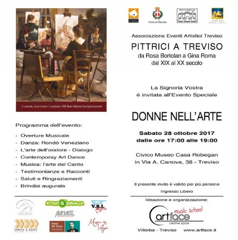 Pittrici a Treviso - Donne nell'Arte
